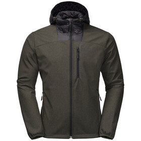 Jack Wolfskin Sky Point Hoody Men, dark moss